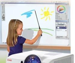 Интерактивный проектор в школе
